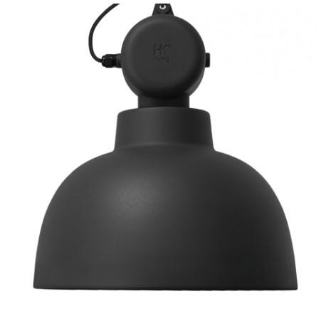 Czarna lampa industrialna Factory M - HK Living