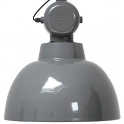 Szara lampa industrialna Factory L - HK Living