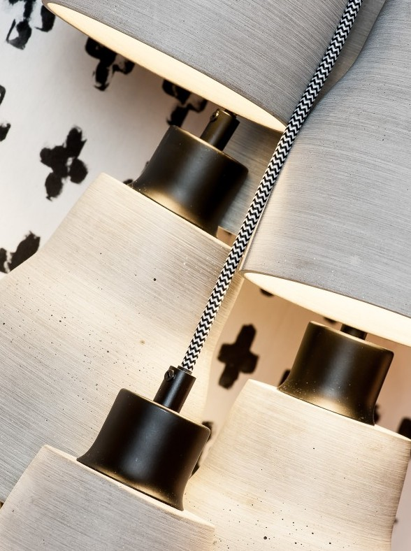 Betonowa lampa o nowoczesnym designie