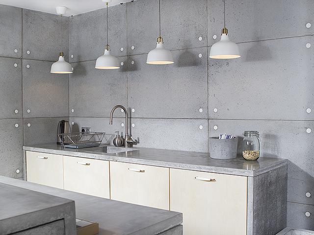 Beton w kuchni