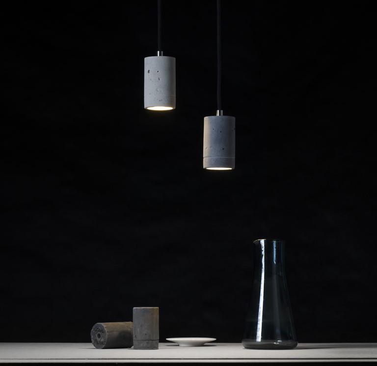 Lampa betonowa KALLA