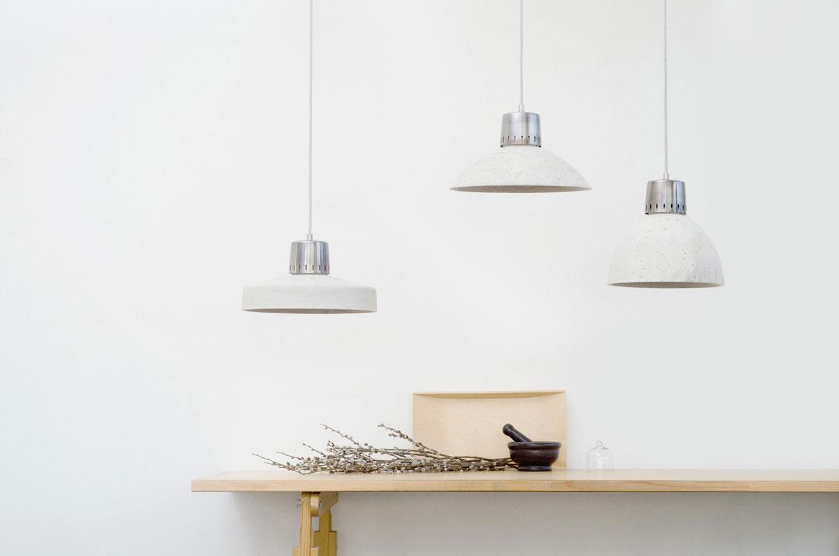 Lampa betonowa KORTA
