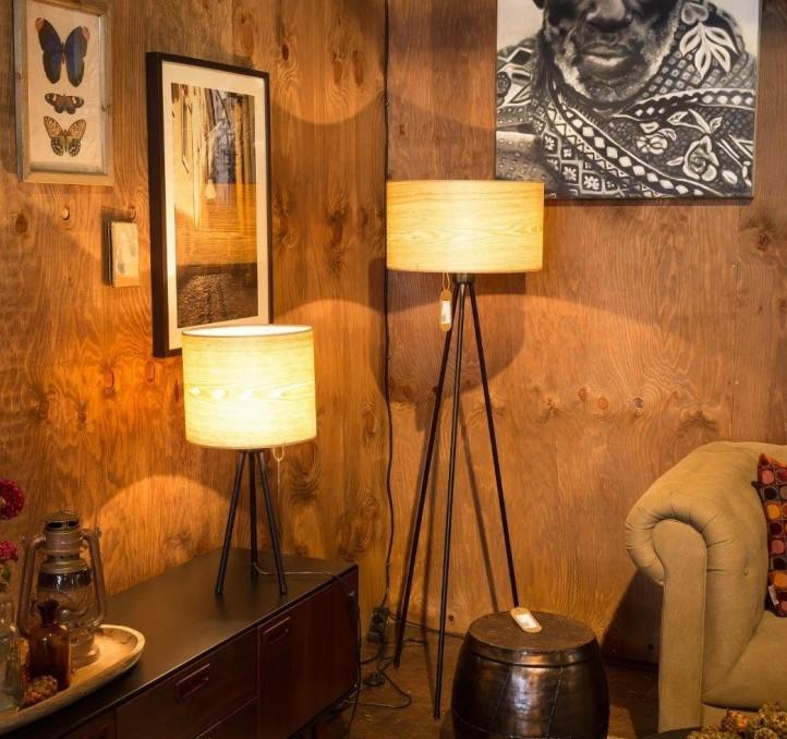 Drewniane lampy, lampy z drewna