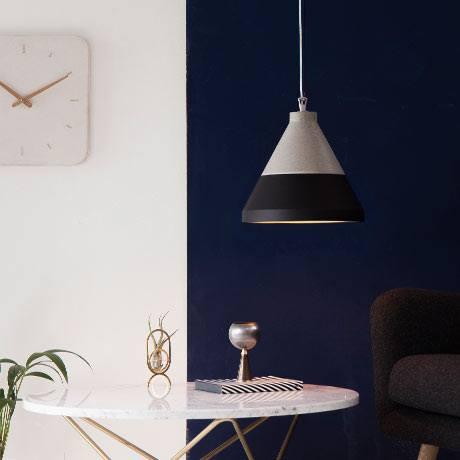 Lampy betonowe Craft – odmieniony beton