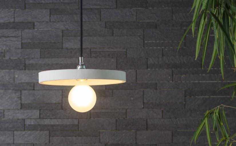 Ciekawe lampy betonowe – nowości na rynku