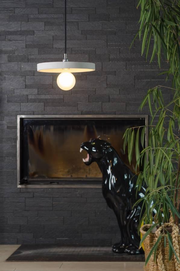 Sufitowa lampa betonowa
