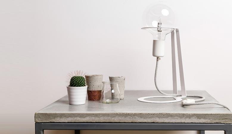 Lampka w stylu industrialnym