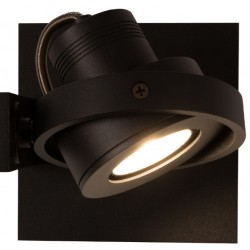 Czarny spotlight LUCI-1 LED - ZUIVER