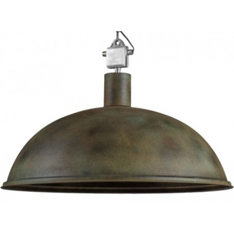 Duża lampa metalowa Rampa XL Rusty Green
