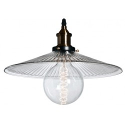 Industrialna lampa szklana Raw Glass 3