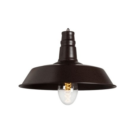 Industrialna lampa wiszaća Raw Metal S2 - Rusty Brown